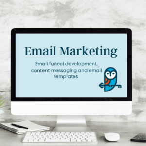 Gifted Owl email marketing product page icon